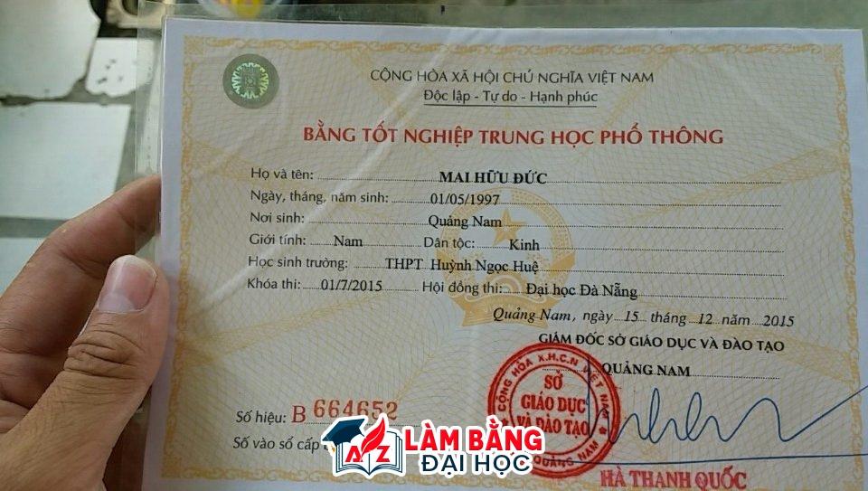 Làm bằng cấp 3 giả tại Hà Nội diễn ra phổ biến