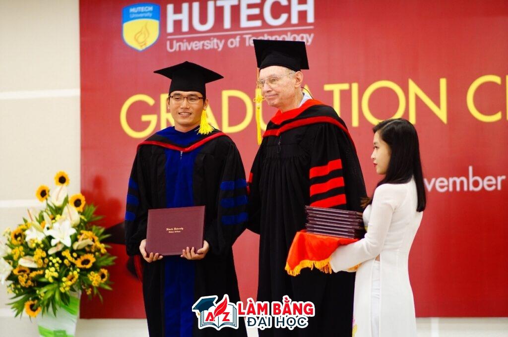 Làm bằng đại học Công nghệ TpHCM Hutech Uy tín